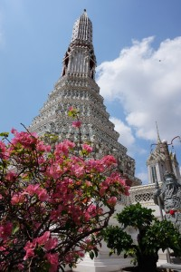 Even under construction, Wat Arun is stunning.