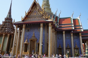 Amazing architecture of the Grand Palace