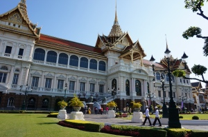 The stunning Palace itself