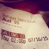 Gallows ticket