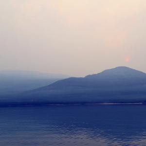 Smoke from the wildfires in Washington