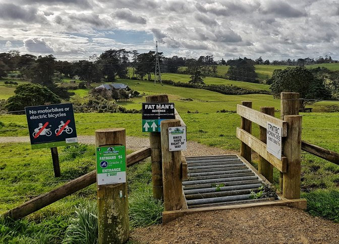 Totara Park Mountain Biking Trails