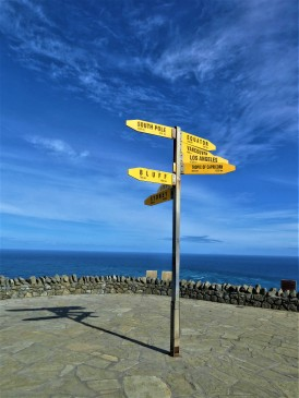 Signpost Cape Reinga New Zealand